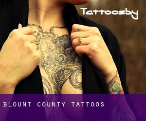 Blount County tattoos