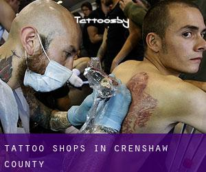Tattoo Shops in Crenshaw County