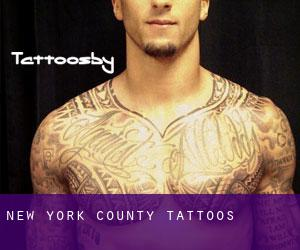 New York County tattoos