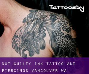 Not Guilty Ink Tattoo and Piercings Vancouver WA Minnehaha